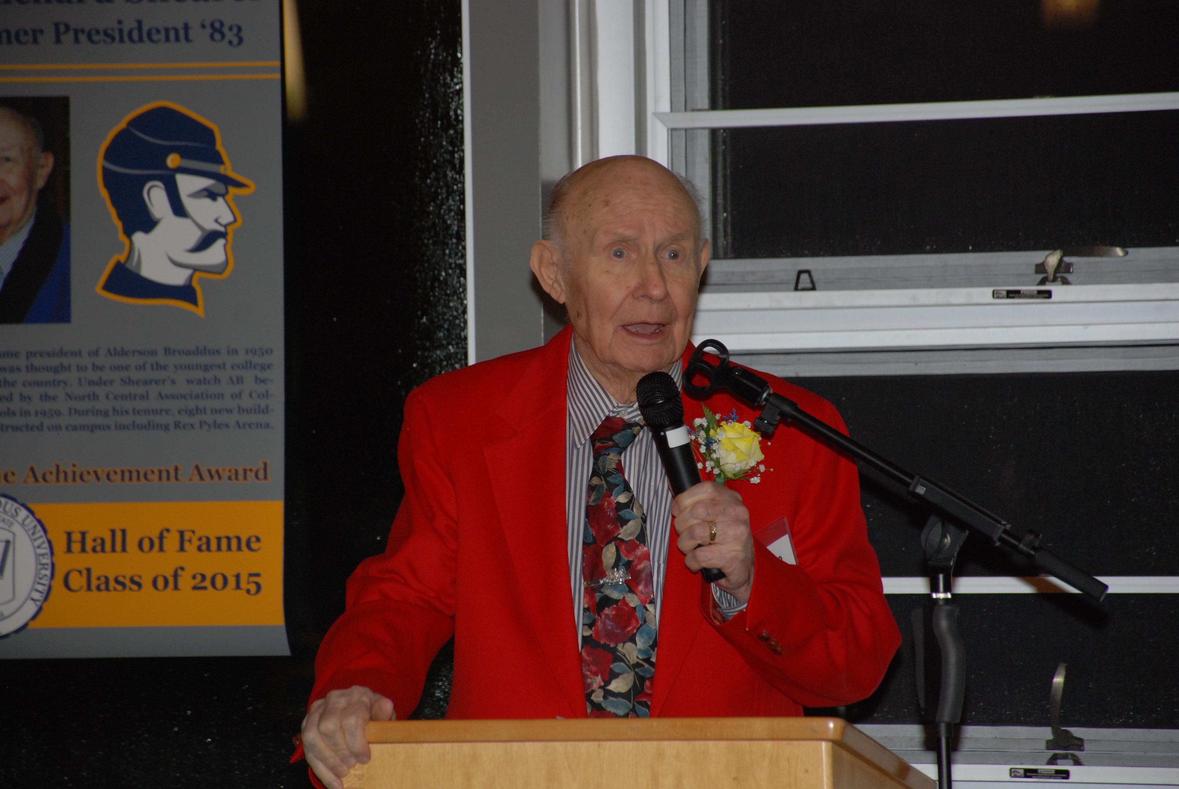 Dr. Richard Shearer - Hall Of Fame
