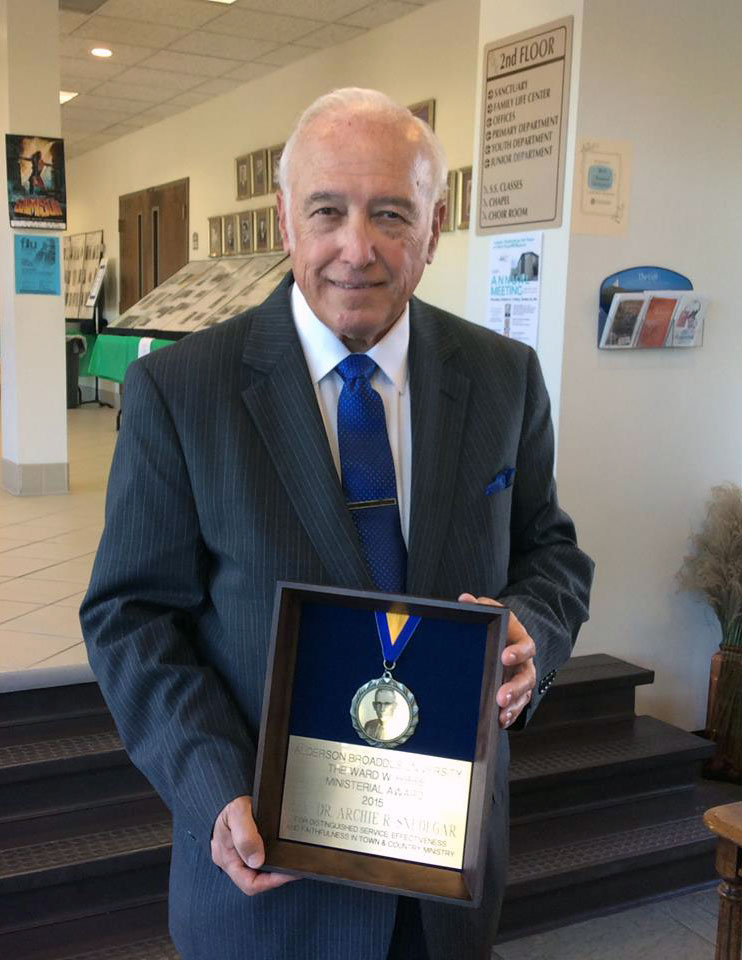 Ward Hibbs Award 2015