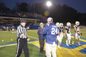 2015 Night Football Game Mike Ross Curtis Fleming