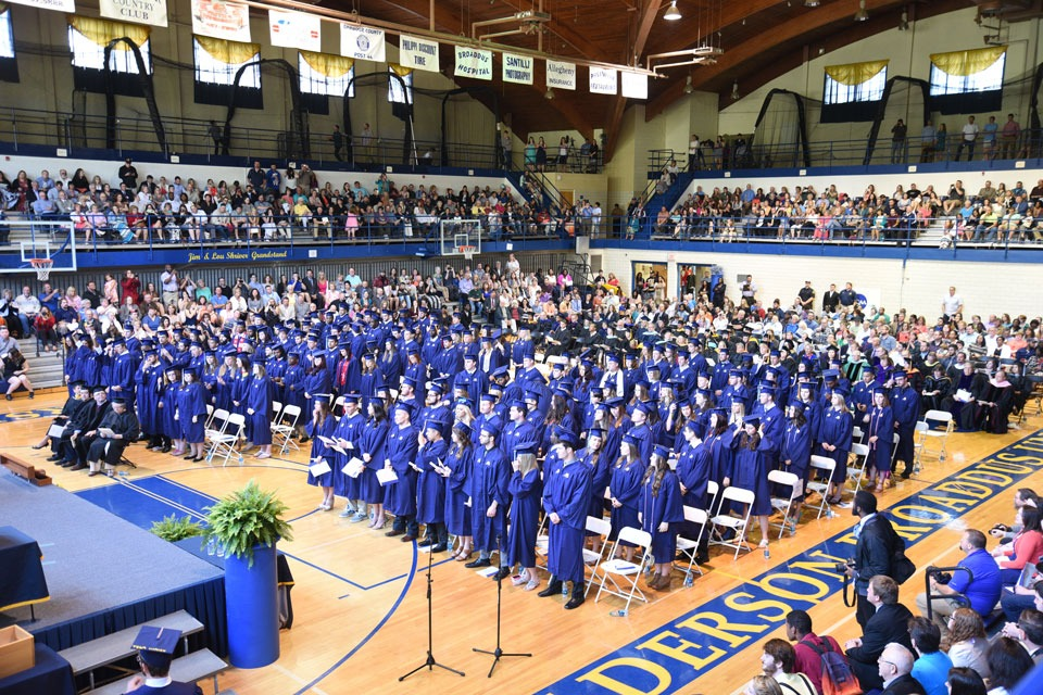 2016 commencement ceremony