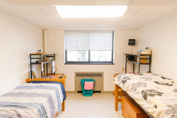 Suite-style residence hall at Alderson Broaddus University
