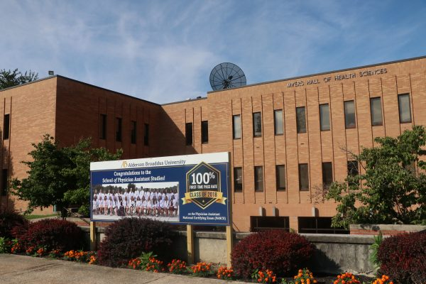 Myers Hall at Alderson Broaddus University