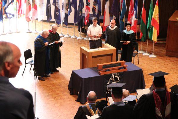 Opening Convocation at Alderson Broaddus University
