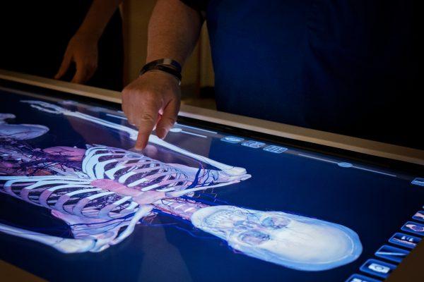 Anatomage Table at Alderson Broaddus University